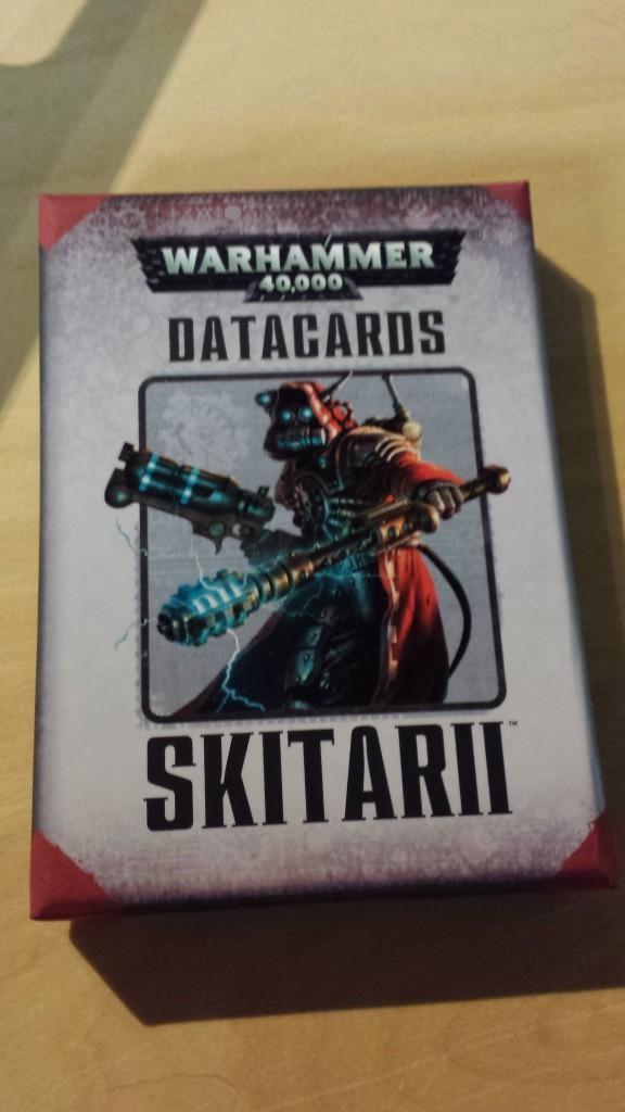 Skitarii data cards