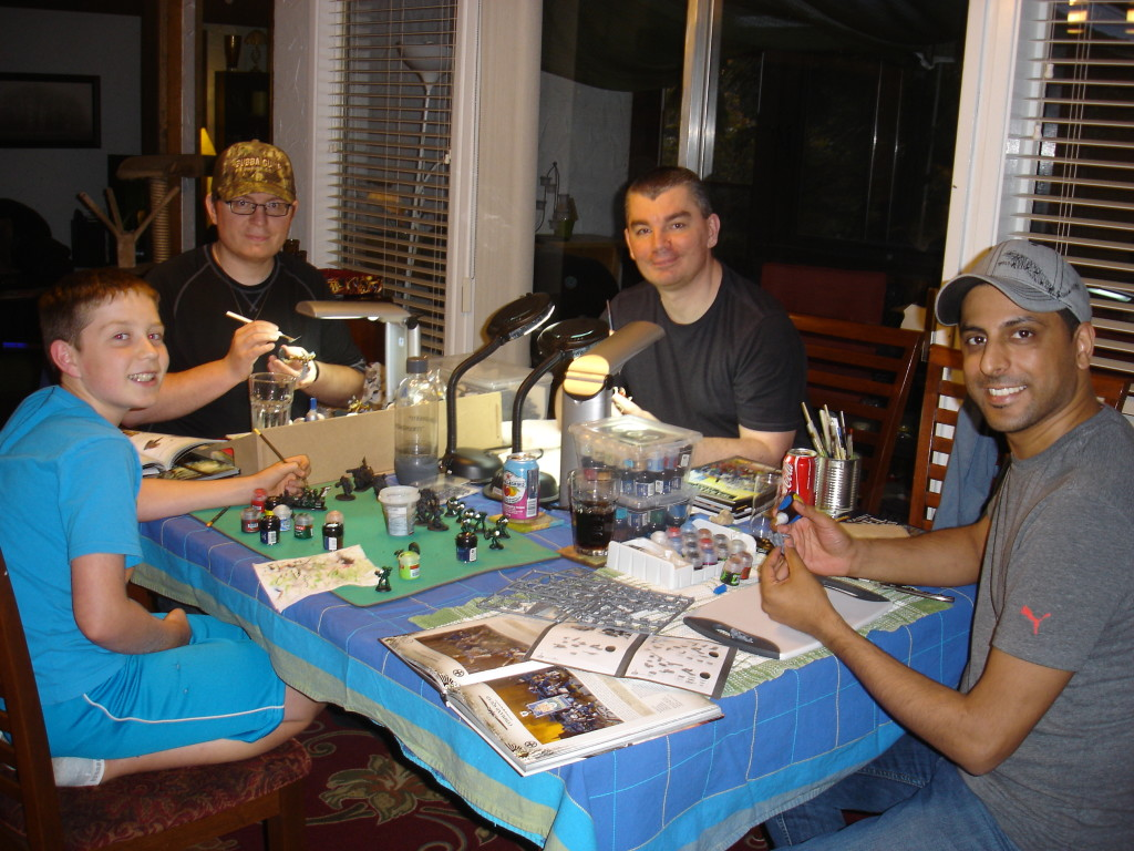 Tabletop Gamer Painting Party