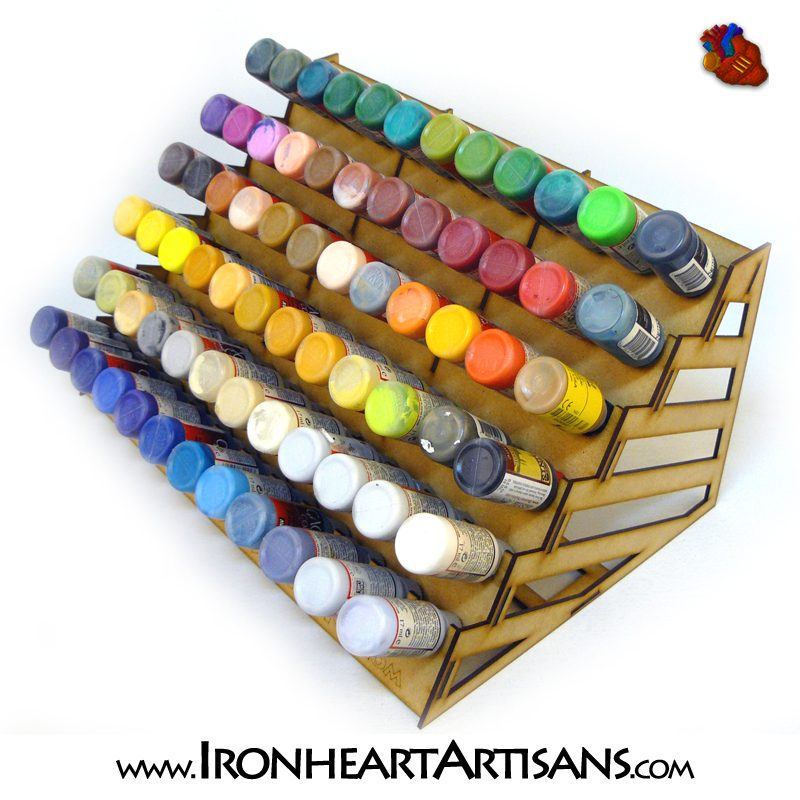 Acrylic Paint Storage Racks For Tabletop Miniature Paints