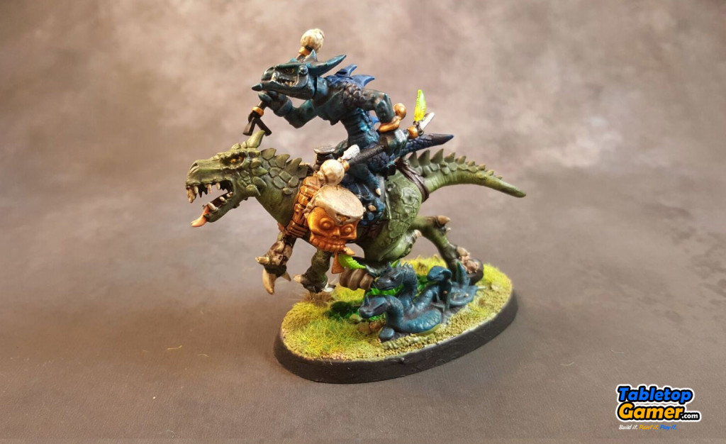 Lizardmen Saurus Knight