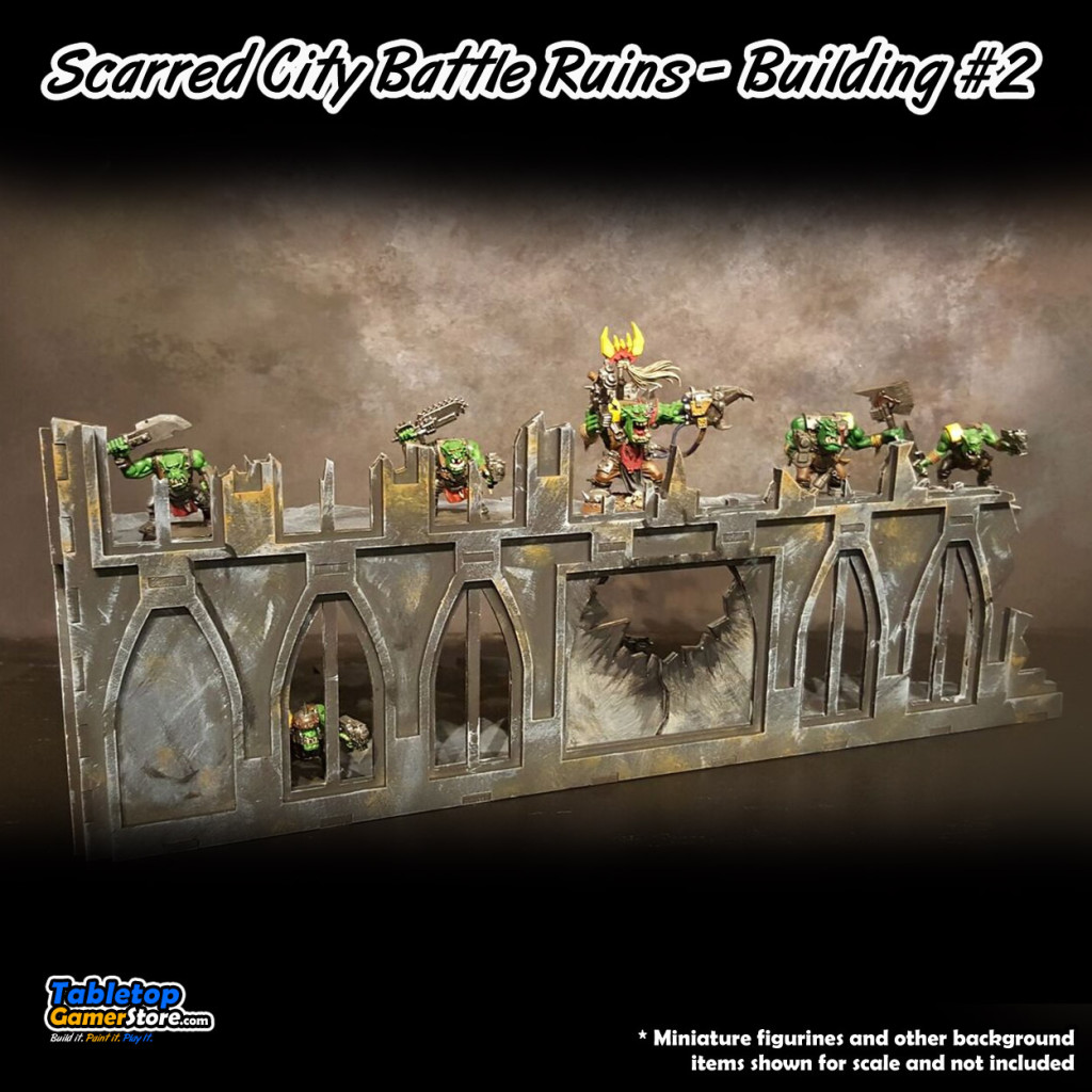 Scarred City Battle Ruins - Building #2