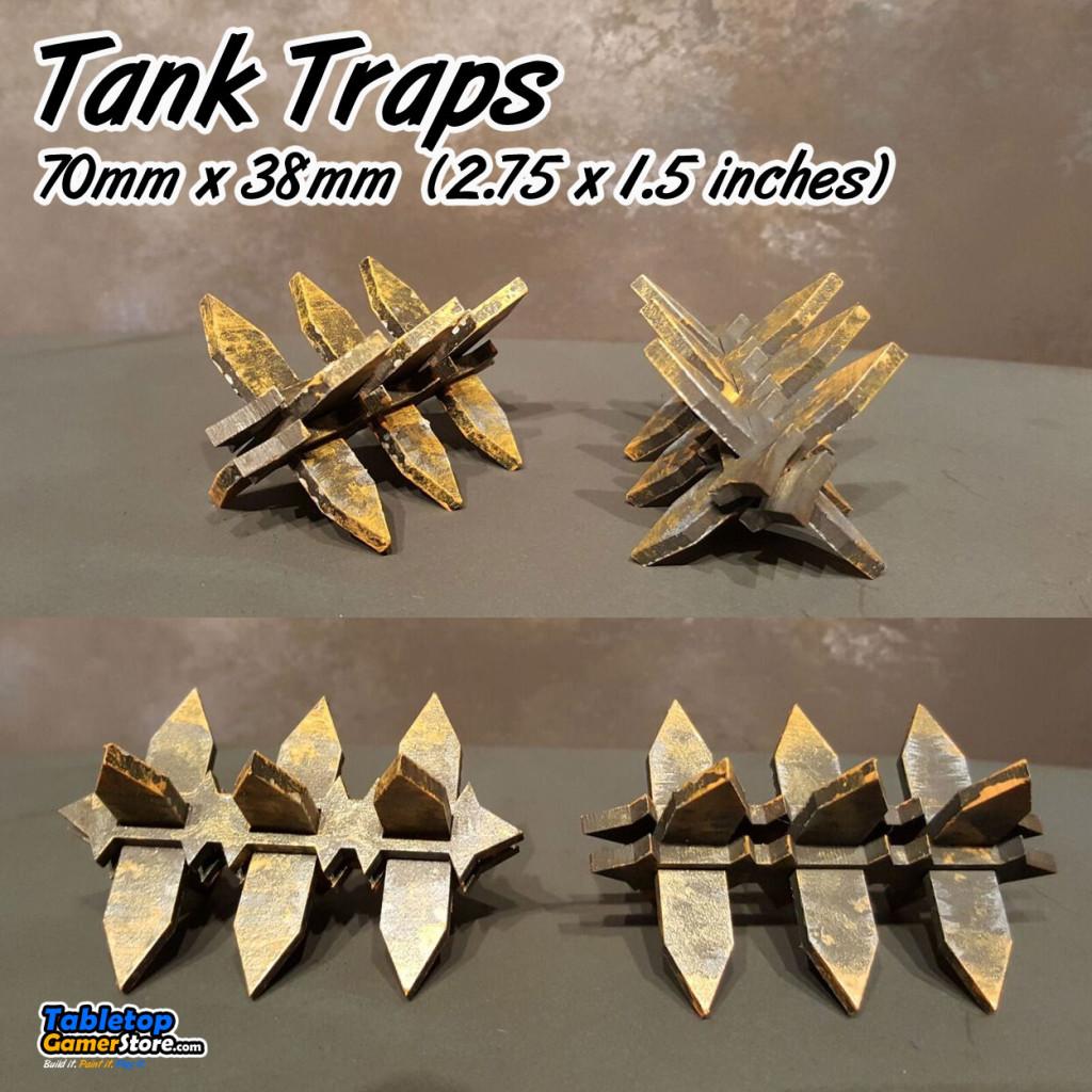 Tabletop Terrain Tank Traps