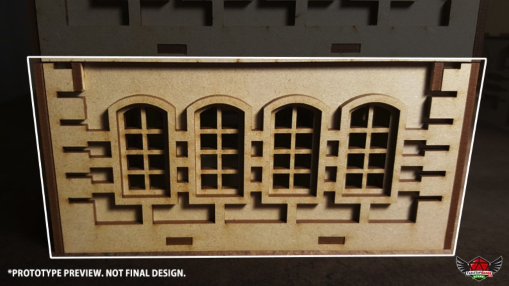 Front / Back Wall Type B (FB - B)