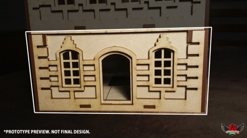 Front / Back Wall Type A (FB - A)