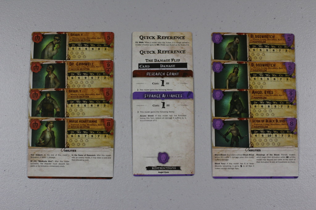 malifaux-starter-set-stat-cards