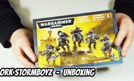 Ork Stormboyz Unboxing