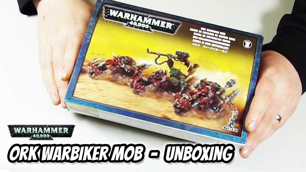 Ork Warbiker Mob Unboxing