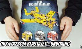 Orks Wazbom Blastajet Unboxing