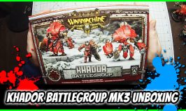 Khador Battlegroup Unboxing – Warmachine Mk3