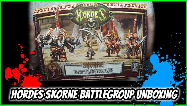 Skorne Battlegroup Unboxing – Hordes Mk3